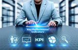 KPI Key Performance Indicator Business Internet Technology Concept