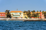 Goree Island,  UNESCO World Heritage Site. Former slaves island - 210949741