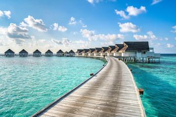 Urlaub in einem Luxushotel in der Südsee