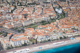Aerial view of Nice, France - 210966979