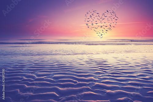 Plexiglas Noordzee wir lieben die Nordsee