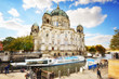 Berlin Cathedral, Berliner Dom, on the Spree River, Germany