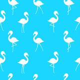Flamingo seamless pattern - 210985704