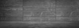 Dark Concrete Wall Stage Background Scene - 210993958