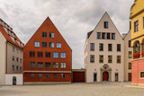 Architecture of Ulm,  Baden-Wurttemberg, Germany - 210998736