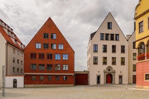 Architecture of Ulm,  Baden-Wurttemberg, Germany
