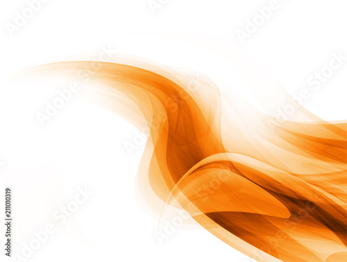 Aluminium Abstractie Modern futuristic background with abstract waves