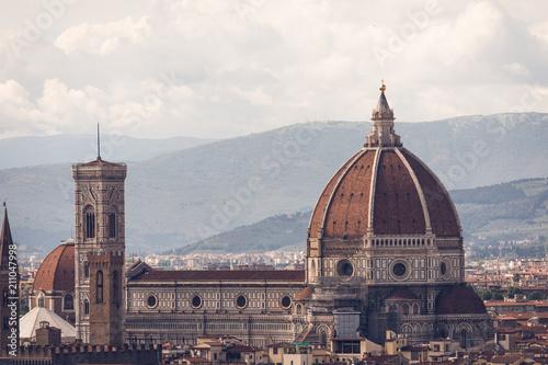 Fotobehang Florence Duomo Di Firenze