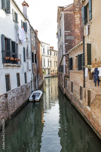 Typical Venice canal