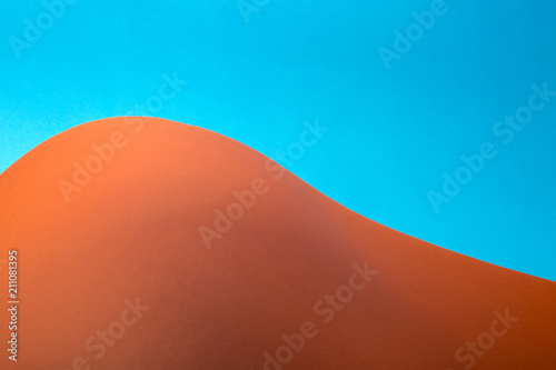 Abstract background of sheets of colored paper, for decoration, for text design, for template - 211081395