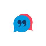 Quote Seo Logo Icon Design