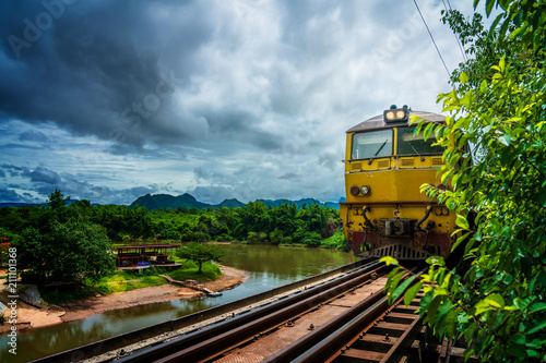 railway background landscape wildlife national park nature
