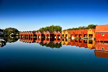 Bootshäuser Norwegen