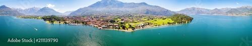 Colico - Lago di Como (IT) - Panoramica aerea
