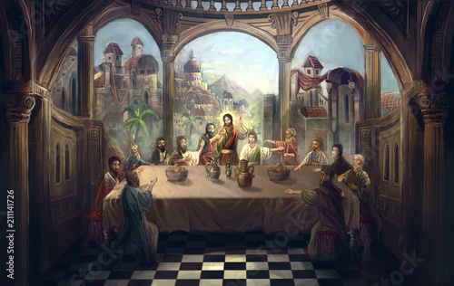 the last supper © vukkostic