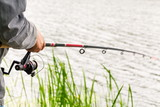 Man with a fishing rod