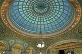 Chicago, Illinois, USA - June 22, 2018 - View of the interior and of the dome at the Chicago Cultural Center. - 211152734