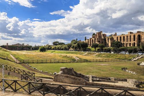 obraz PCV Circus Maximus in Rome, Italy