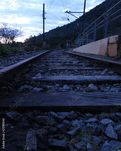 Aluminium Spoorlijn Estrada de ferro