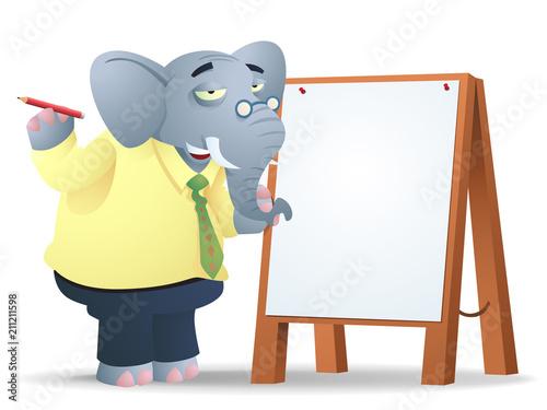 Fototapeta Elephants Remember