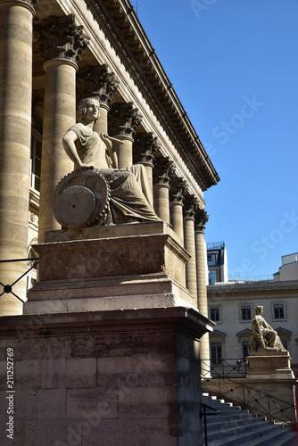 Pałac giełdy w Paryż, Francja