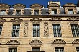 Demeure historique du Marais à Paris, France - 211269519