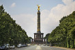 Victory column (Siegessaule) at Great Star square in Tiergarten. Berlin. Germany