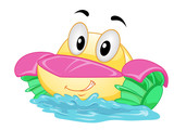 Mascot Paddle Boat Illustration - 211273588