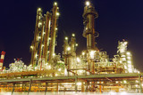 Oil refinery plant or factory - 211297502