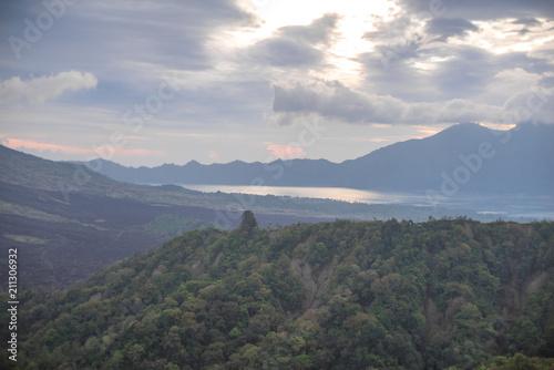 Fotobehang Bali Batur lake