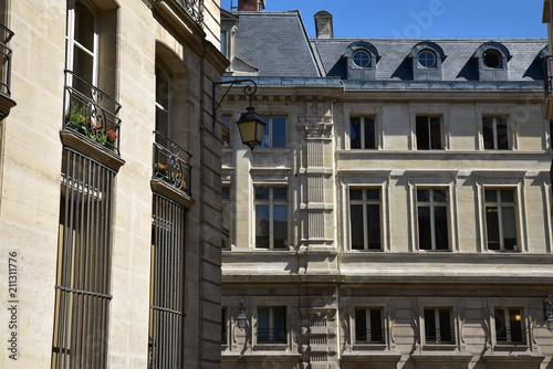 Immeubles à Paris, France