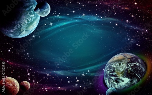 space fantasy background