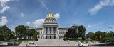 Pennsylvania State Capitol Complex Panoramic View Exterior Dome - 211359144