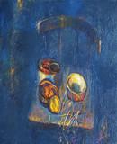 oil paint jars - 211362743