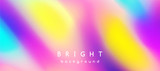 bright multicolor background of blurred spots
