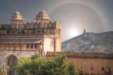 halo over Amer Fort Jaipur. - 211368351