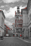 beautiful old streets of Prague. - 211369573