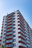 Corner View of council tower block