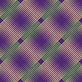 Seamless halftone pattern. Geo, geometric background, screen print texture, seamless fabric print, digital contemporary background - 211389574