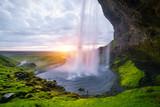 Seljalandsfoss - beautiful waterfall in Iceland