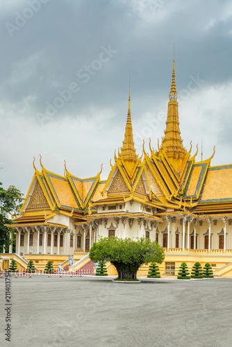 Kambodża Phnom Penh Royal Palace Silver Pagoda