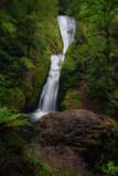 Lush waterfalls of Oregon's Columbia River Gorge