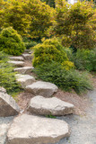 Beautiful Garden Setting With Stepping Stones - 211413508