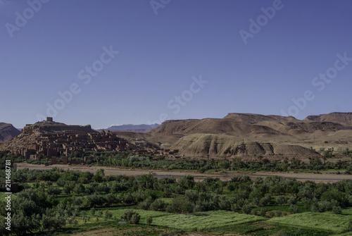 Fotobehang Marokko Aït-Benhaddou