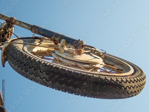 Fotobehang Schip Old bike