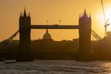 Sunset by Tower Bridge