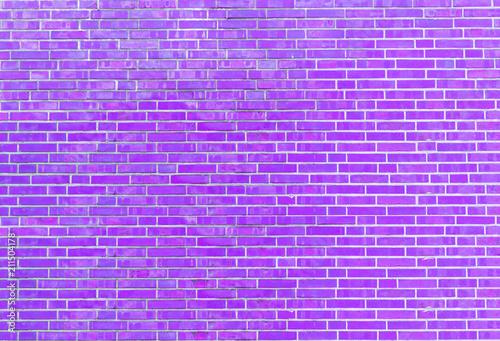 Fiołkowa ściana z cegieł tekstura