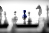 Chess business concept, leader teamwork & success - 211511938