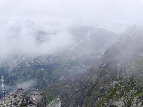 tatry we mgle.widok z orlej perci - 211532901