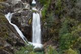 Arado waterfall at Geres national park, Portugal